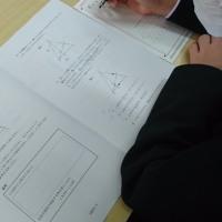 全国・県学力学習状況調査がありました。
