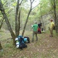 阿弥陀南稜と中央稜を狙って、広河原沢でキャンプをしました。初日は天場まで