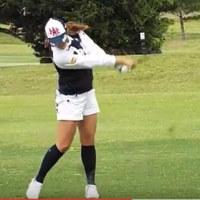 2/20ゴルフ練習しました。・・・頭を残す