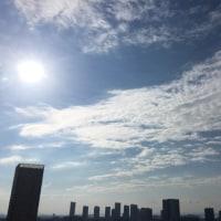 4/23の朝の空