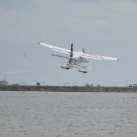 水陸両用機飛来