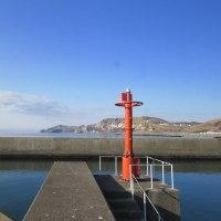 春まじかなイタンキ漁港とイタンキ浜