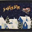 キルト展から、夏なのにクリスマス