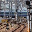 現代のブルートレイン大阪駅入線