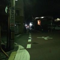 中畑の変則五差路が、夜暗くて運転しにくいと相談があり、先ほど、区役所に相談に行きました。