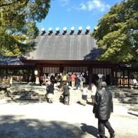 熱田神宮に行ってきました。