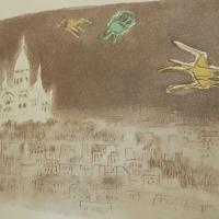 東山魁夷唐招提寺御影堂・障壁画展、と売店の楽しい本