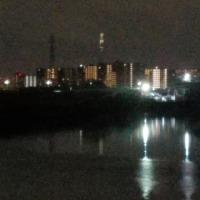 夜ポタは30回目の新砂リバーステーション