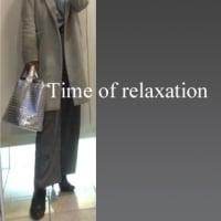 元同僚と会う日のコーデ♪♪=ブルースキッパーにシルバーバッグ(*^^)v=【休暇編】