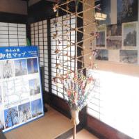 馬場屋敷の「松本平の御柱展」