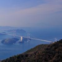 来島海峡を望み、そして四国へ