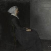 ヴィルヘルム・ハンマースホイ と ホイッスラー 画家の母親