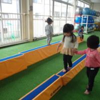 しろ・すみれ 1歳児 体育館遊び・園庭