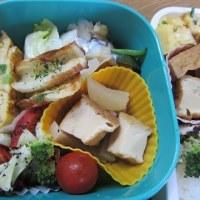 ニンジン&ピーマンの太刀魚巻き弁当