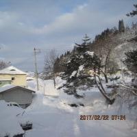 時期なのに・・・中々かた雪渡りに為りませんね!?・・・ブログ更新しました!