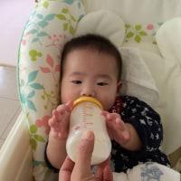 旅行後は☆孫ちゃんのお預かりで~離乳食作り☆