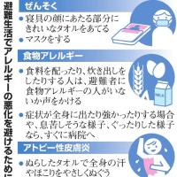 熊本地震~災害時のアレルギー対策