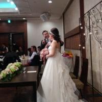 結婚式披露宴参加