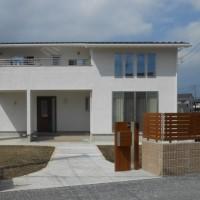 東松山の家、完成