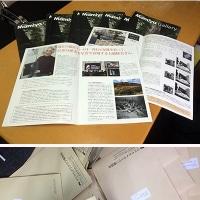 マミヤカメラクラブ会報誌30号が完成。そして即日発送です。