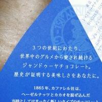 東京に出かけたスタッフのお土産 ※東京ジャンドゥーヤチョコパイ※