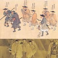 三條実美ら公卿7人が長州へ落ちていった。