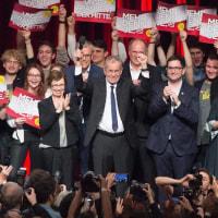 オーストリアで、右翼敗北!