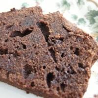 ダブルチョコレートのケーキ