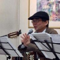 市川ギャラリー樹 鈴木美絵子さん個展のオープニングパーティーで演奏 4月29日