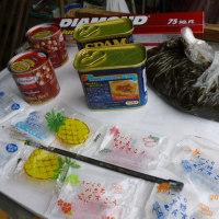 沖縄土産の差し入れ。