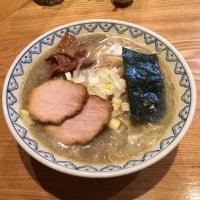 つじ田『奥の院』煮干しラーメン〜千代田区飯田橋