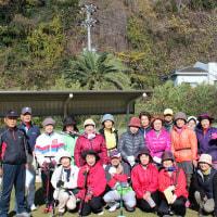 下田地区グラウンドゴルフの開催