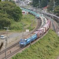 10月14日撮影 EH200貨物とE233配給