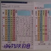今日のゴルフ挑戦記(61)/東名厚木CC イン(B)→ウエスト