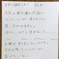 【美術部】パンがかぶる~170520