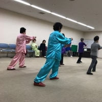 """""""16式太極剣""""多摩平太極拳教室"""