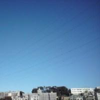 昨日の空は…