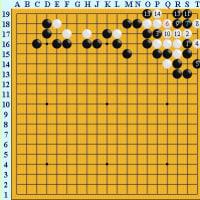 囲碁死活1474囲碁発陽論