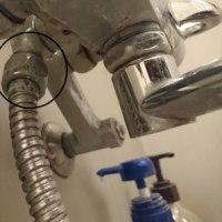 シャワー交換しました