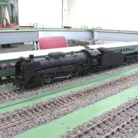 D51のスタティックモデルの改造機関車