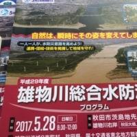 雄物川総合水防演習