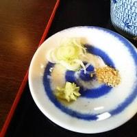 秩父蕎麦を楽しむ:薬味を気遣いする気持ちに拍手