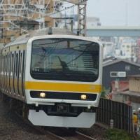 2017年6月27日 総武線  平井 E231系C509編成