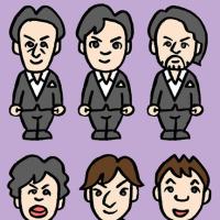 「二期会オペラ歌手ユニット」The JADE、ザ・ジェイド(似顔絵)