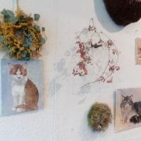 猫の彫刻展