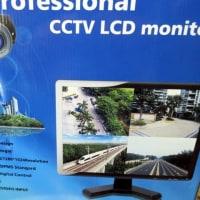 防犯カメラ用監視モニター入荷で設置にお伺いです。