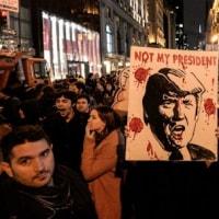 反トランプ勢力 大統領宣誓式を台無しにするため大衆抗議活動を準備  ←デモ参加者に報酬。米紙すっぱ抜く