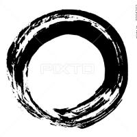 ○筆文字デザイン処こんにち和○4.10セレクト☆「○(まる)」筆文字デザイン