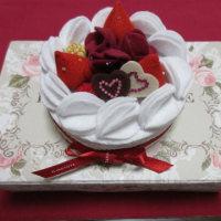 フェルトケーキのプレゼント