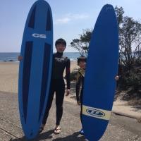 春休みサーフィンスクール★LES